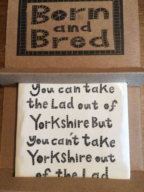 Moorland Pottery Lad Out Of Yorkshire Coaster-0