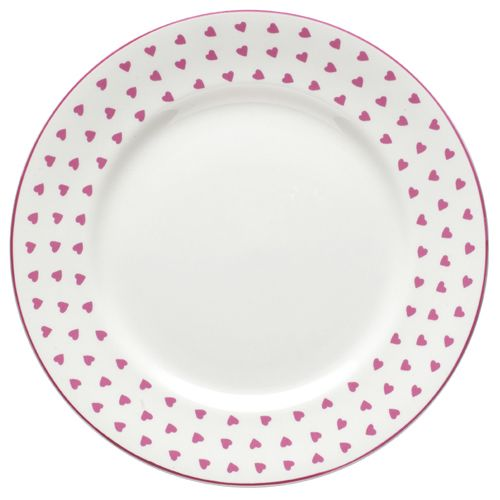 Nina Campbell Pink Heart Tea Plate -0