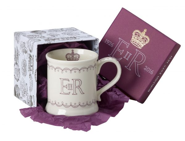 Burleigh Queens 90th Birthday Footed Mug Gift Boxed-0