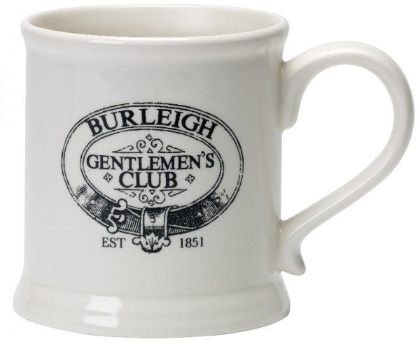 Burleigh Gentlemen's Club Moustache Mug Gift Boxed-0