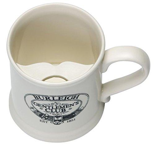 Burleigh Gentlemen's Club Moustache Mug Gift Boxed-1975