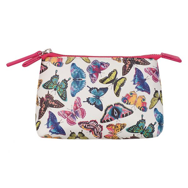 Harlequin Papilio Butterfly Cosmetic Bag-0