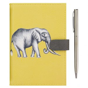 Harlequin Savanna Elephant Travel Wallet-0
