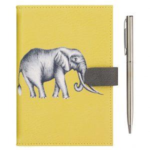 Harlequin Savanna Elephant Travel Wallet-0