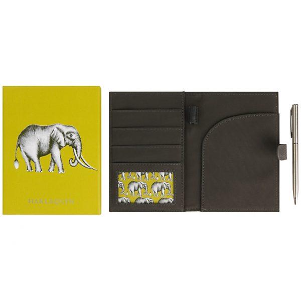 Harlequin Savanna Elephant Travel Wallet-2004