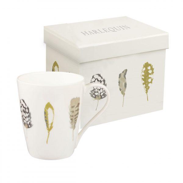 Harlequin Limosa Linen Gift Boxed Mug-0