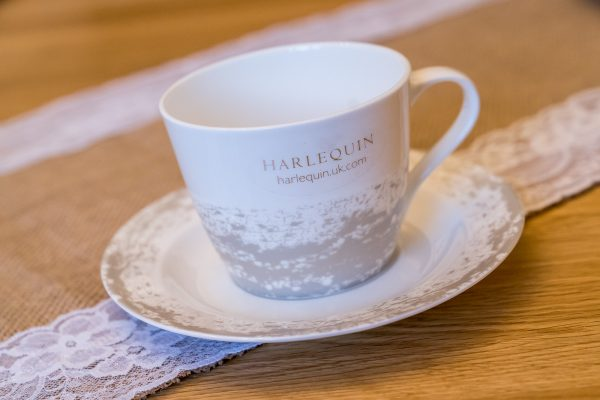 Harlequin Eglomise Tea Cup & Saucer Gift Boxed-0