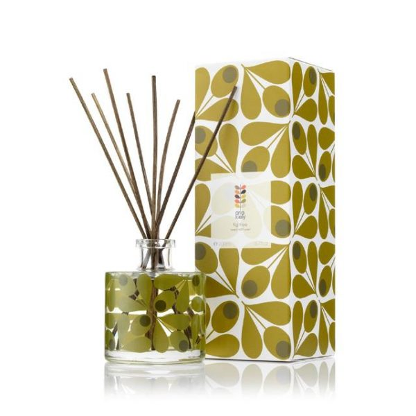 Orla Kiely Fig Tree Scented Reed Diffuser, 200ml-0