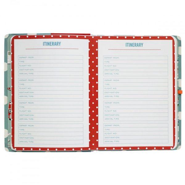 Cath Kidston Button Spot Travel Journal Diary-2082