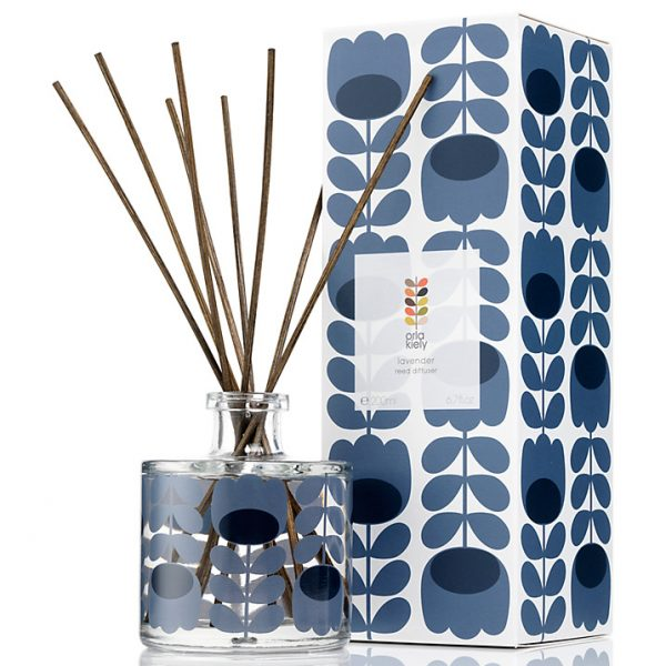 Orla Kiely Lavender Scented Reed Diffuser, 200ml-0