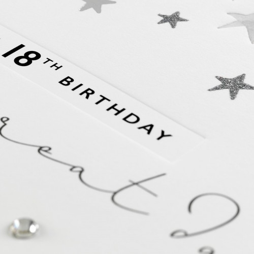 Janie Wilson Happy 18th Birthday Card-2152