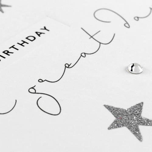 Janie Wilson Happy 21st Birthday Card-2153