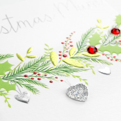 Janie Wilson Merry Christmas Mum Card-2158