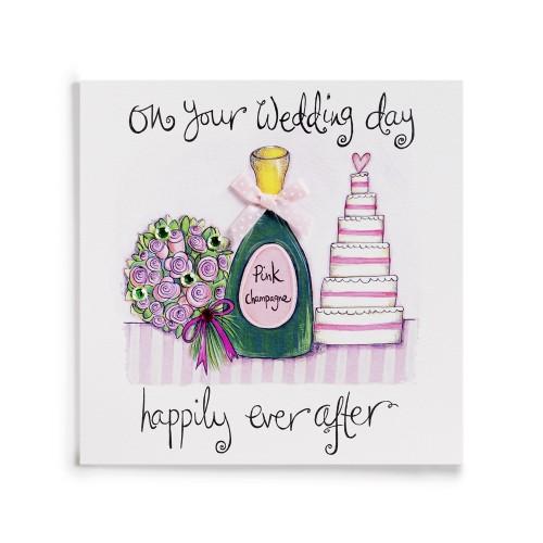 Janie Wilson On Your Wedding Day Card-0