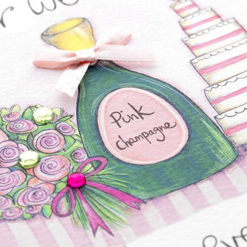 Janie Wilson On Your Wedding Day Card-2141