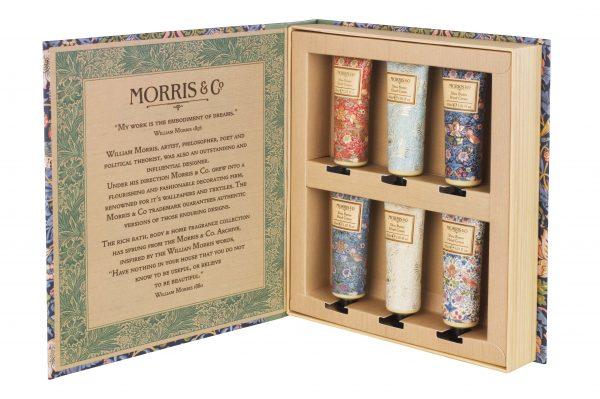 William Morris & Co Strawberry Thief Hand Cream Library 6 X 30ml-0