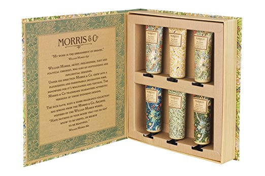 William Morris & Co Golden Lily Hand Cream Library 6 x 30ml-0