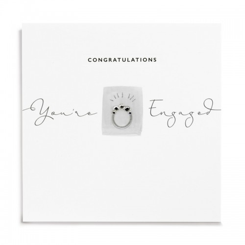 Janie Wilson Engaged Engagement Card-0