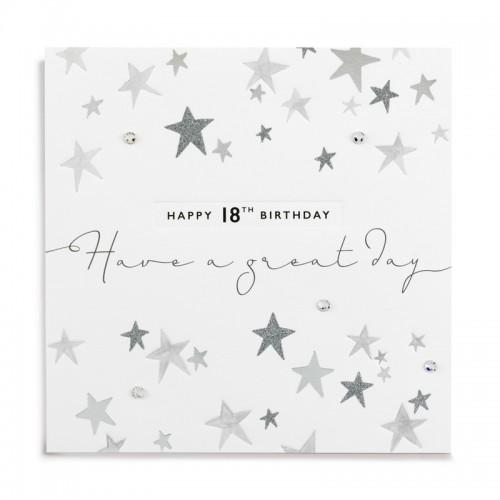 Janie Wilson Happy 18th Birthday Card-0