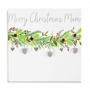 Janie Wilson Merry Christmas Mum Card-0