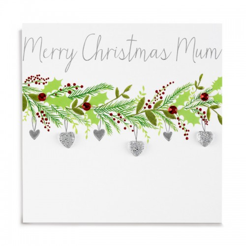 Janie Wilson Merry Christmas Mum Card-0