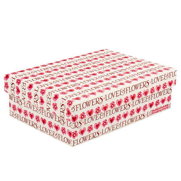 Emma Bridgewater Love & Flowers Small Gift Box-0