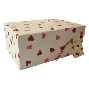 Emma Bridgewater Hearts Large Gift Storage Box-0