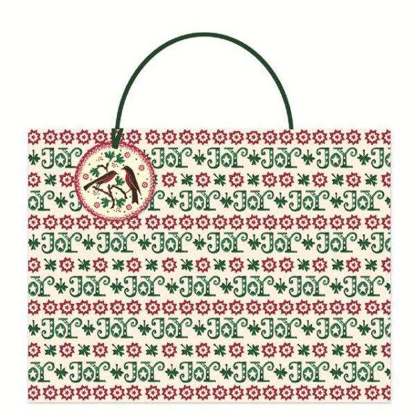 Emma Bridgewater Robin Joy Shopper Christmas Gift Bag-0