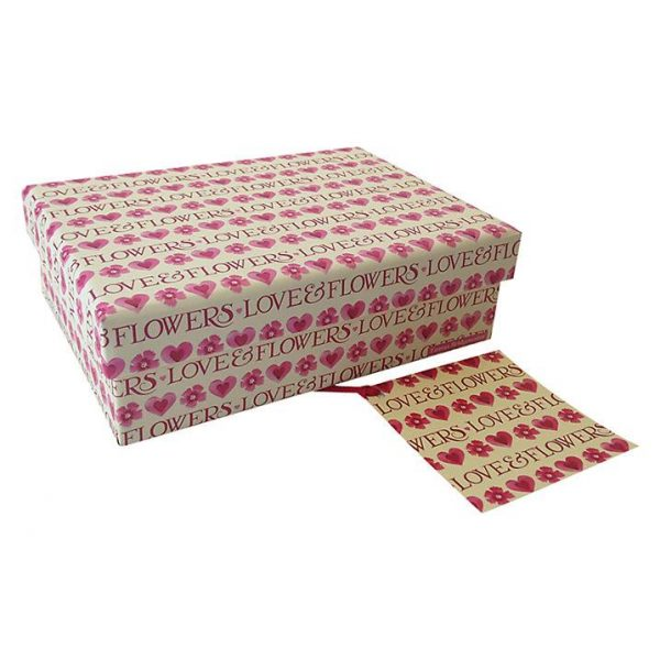 Emma Bridgewater Love & Flowers Small Gift Box-2237