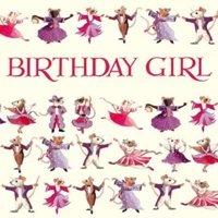 Emma Bridgewater Dancing Mice Birthday Girl Card-0