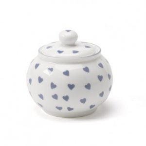 Nina Campbell Blue Hearts Sugar Bowl-0