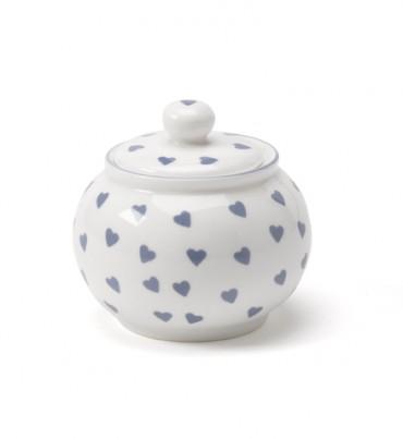 Nina Campbell Blue Hearts Sugar Bowl-0