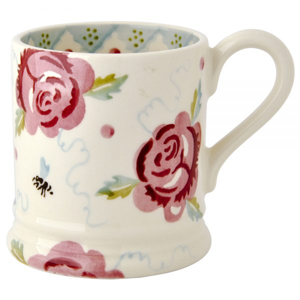 Emma Bridgewater Rose & Bee 1/2 Pint Mug-0