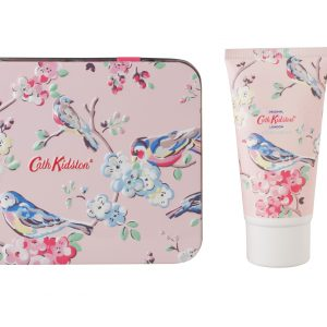 Cath Kidston White Clover & Matcha Tea Hand & Lips Set in Tin-0