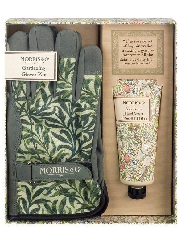 William Morris Golden Lily Gardening Glove Kit - Gloves & Hand Cream-0