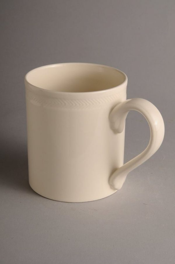 Hartley Greens Leeds Pottery Hunslet Roulette Straight Mug-0