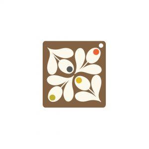 Orla Kiely Acorn Gift Tags x 5-0
