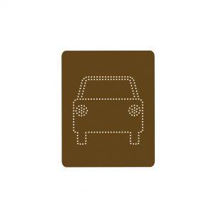 Orla Kiely Cars Gift Tags x 5-0