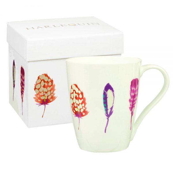 Harlequin Limosa Papaya Gift Boxed Mug-0