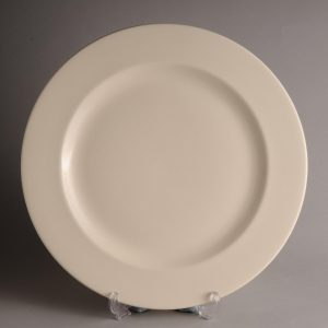Hartley Greens & Co Leeds Pottery Plain Hunslet Serving Plate-0