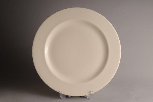 Hartley Greens & Co Leeds Pottery Plain Hunslet Serving Plate-0