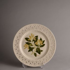 Hartley Greens & Co Leeds Pottery Herb & Spice Pierced Plate - Clove-0