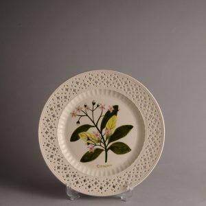 Hartley Greens & Co Leeds Pottery Herb & Spice Pierced Plate - Cinnamon-0