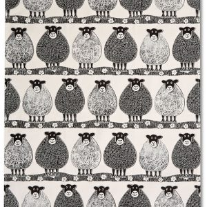 Moorland Pottery Sheep Tea Towel-0