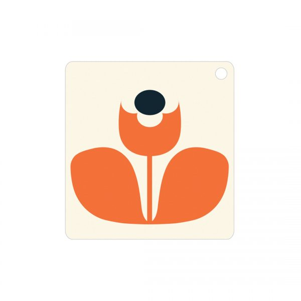 Orla Kiely Wallflower Gift Tags x 5-0
