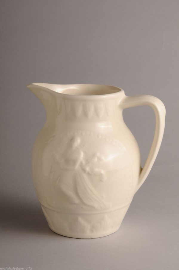 Hartley Greens Leeds Pottery Country Lass Jug-0