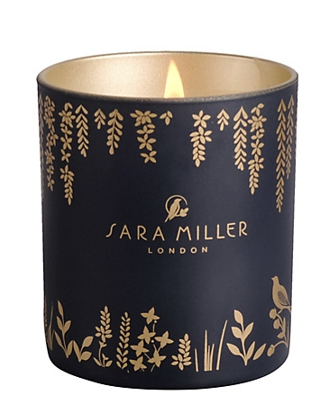 Sara Miller Fig, Vanilla and Cacao Scented Candle-2449