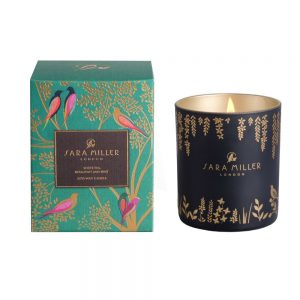 Sara Miller White Tea, Bergamot and Mint Scented Candle-0
