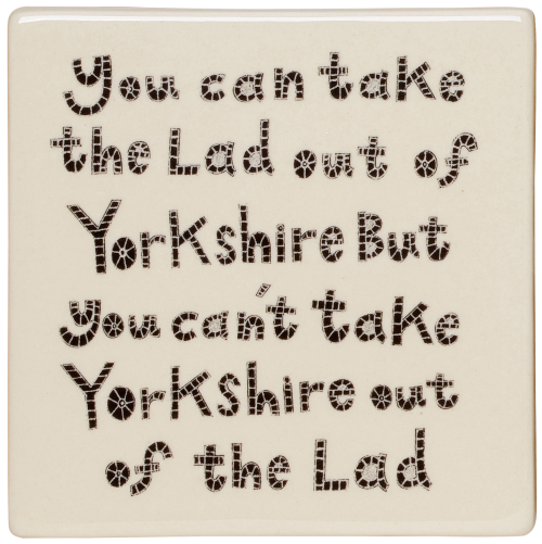 Moorland Pottery Lad out of Yorkshire Coaster
