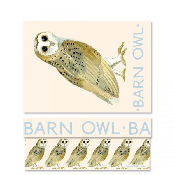 Emma Bridgewater Forest Animals Barn Owl Medium Gift Box-0